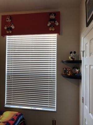 Mickey/Minnie Twin Bedroom